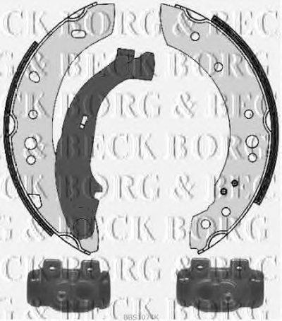 Комплект тормозных колодок BORG & BECK купить