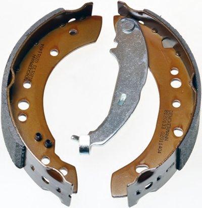 B120133 DENCKERMANN Комплект тормозных колодок