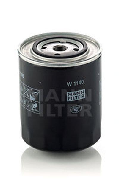 W1140 MANN-FILTER Масляный фильтр; Фильтр, Гидравлическая система привода рабочего оборудования