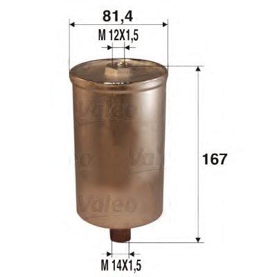 587205 VALEO Топливный фильтр