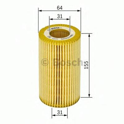 F026407021 BOSCH Масляный фильтр