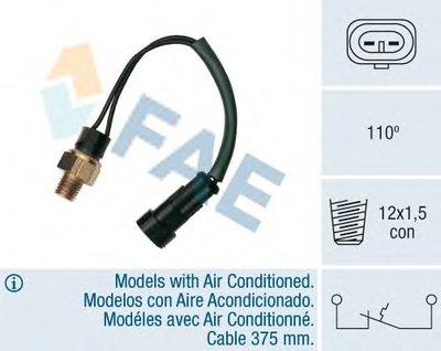 термовыключатель, сигнальная лампа охлаждающей жидкости FAE купить