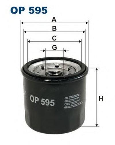 OP595 FILTRON Масляный фильтр