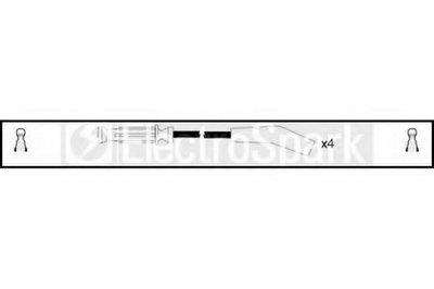 Комплект проводов зажигания ElectroSpark STANDARD купить