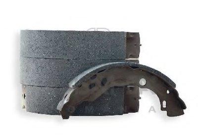 Колодки торм. барабан. (с ABS) (203X39)