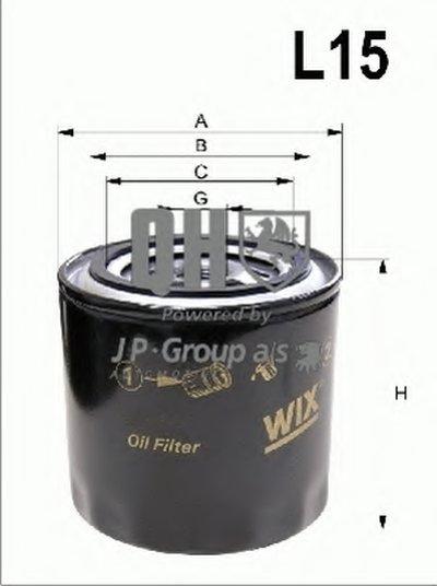 4818701209 JP GROUP Топливный фильтр