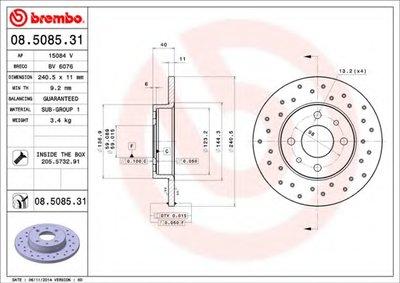 Тормозной диск COATED DISC LINE AP купить