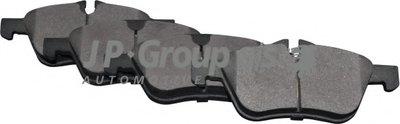 Фотография Комплект тормозных колодок, дисковый тормоз JP GROUP 6063600210
