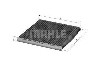 LAK131 MAHLE ORIGINAL Фильтр, воздух во внутренном пространстве