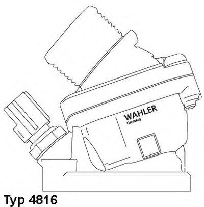 481690D WAHLER Термостат, охлаждающая жидкость