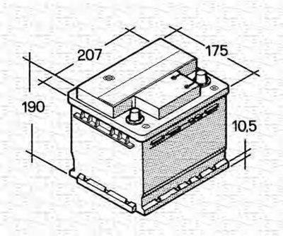 Стартерная аккумуляторная батарея; Стартерная аккумуляторная батарея для ETS MAGNETI MARELLI купить