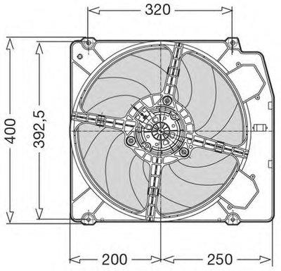 Вентилятор, охлаждение двигателя Genuine: DENSO CTR купить
