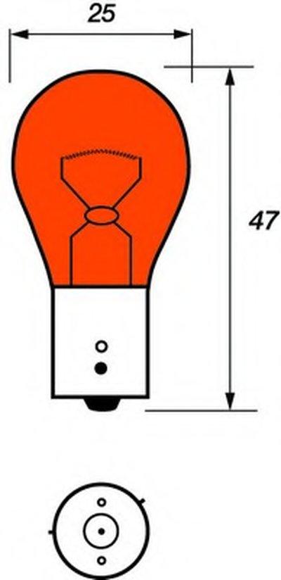 Лампа накаливания, фонарь указателя поворота; Лампа накаливания, дополнительный фонарь сигнала торможения MOTAQUIP купить