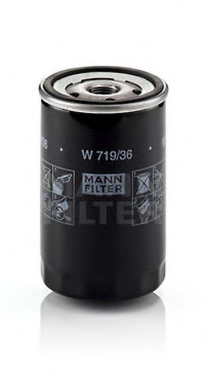 W71936 MANN-FILTER Масляный фильтр
