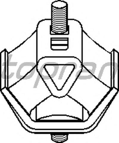 Кронштейн двигателя TOPRAN купить
