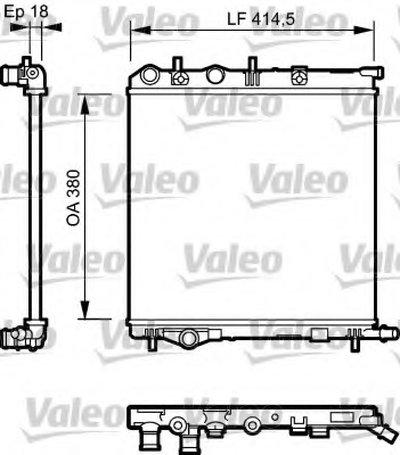 Радиатор, охлаждение двигателя VALEO купить