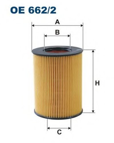 OE6622 FILTRON Масляный фильтр