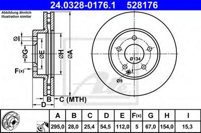 Запчасть ATE 24032801761 для авто MERCEDES-BENZ с доставкой