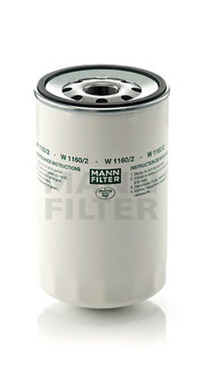 W11602 MANN-FILTER Масляный фильтр