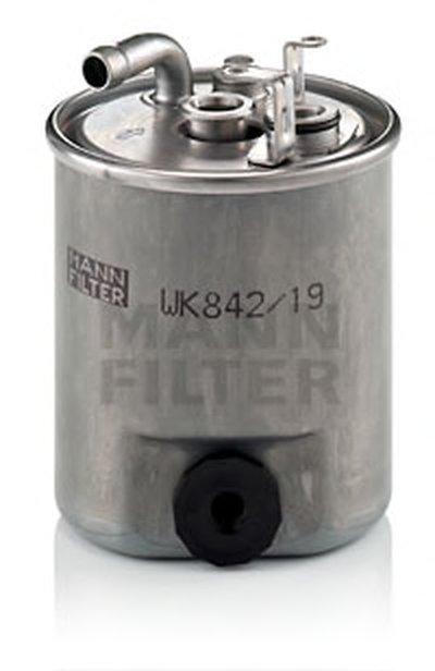 WK84219 MANN-FILTER Топливный фильтр