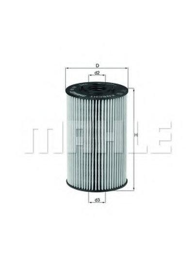 OX150D KNECHT Масляный фильтр