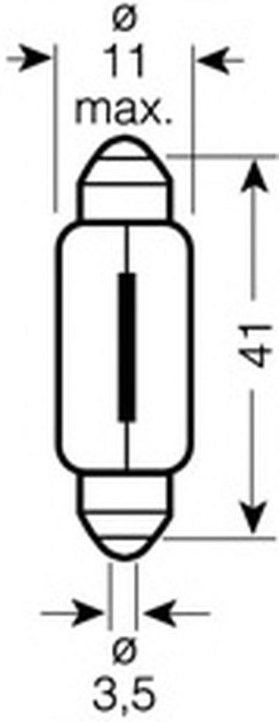 Лампа накаливания, фонарь освещения номерного знака; Лампа накаливания, задний гарабитный огонь; Лампа накаливания, oсвещение салона; Лампа накаливания, фонарь установленный в двери; Лампа накаливания, фонарь освещения багажника; Лампа накаливания, подкапотная лампа; Лампа накаливания, oсвещение салона; Лампа накаливания, фонарь освещения номерного OSRAM купить
