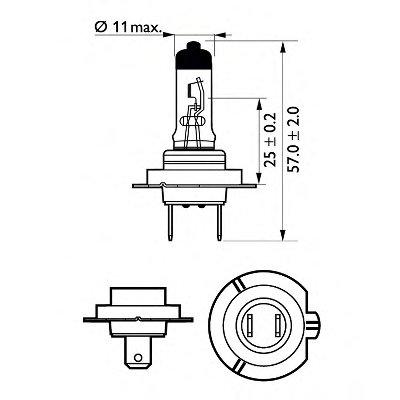 Лампа накаливания, фара дальнего света; Лампа накаливания, основная фара; Лампа накаливания, противотуманная фара; Лампа накаливания; Лампа накаливания, основная фара; Лампа накаливания, фара дальнего света; Лампа накаливания, противотуманная фара; Лампа накаливания, фара с авт. системой стабилизации; Лампа накаливания, фара с авт. системой стабили LongLife EcoVision PHILIPS купить