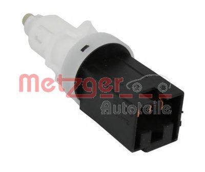 Выключатель фонаря сигнала торможения; Выключатель, привод сцепления (Tempomat) METZGER купить