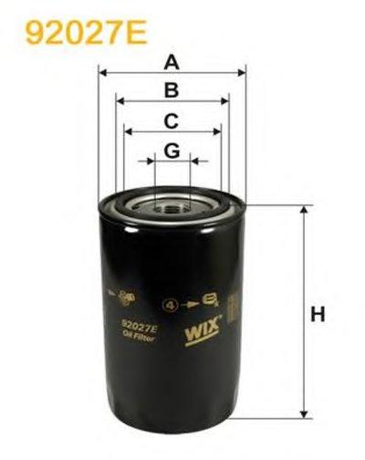 92027E WIX FILTERS Масляный фильтр