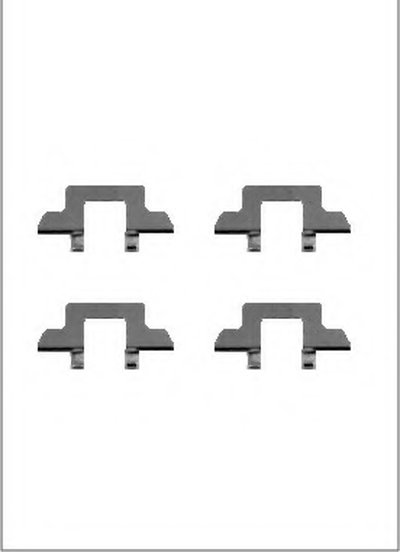 Комплектующие, колодки дискового тормоза MOTAQUIP купить